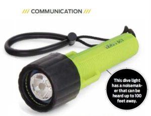Dive Torch Light Noise Maker