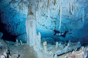 Cave Diving Chicho Cave the Dominican Replublic
